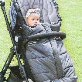 Baby Dan Téli lábzsák mózeskosárba és sportkocsiba szürke/ezüst