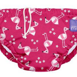Úszópelenka Bambino Mio Pink Flamingo méret L