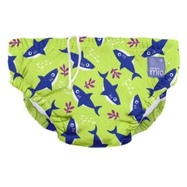 Úszópelenka Bambino Mio Neon Shark méret L