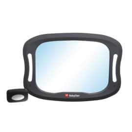 Állítható visszapillantó tükör autóba LED világítással